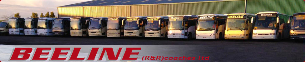 Beeline Coaches, Warminster. Wiltshire coach hire company