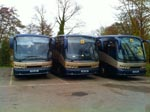 Some of our vehicles in the depot